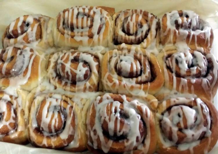 Recipe: Appetizing Tasty Cinnamon buns