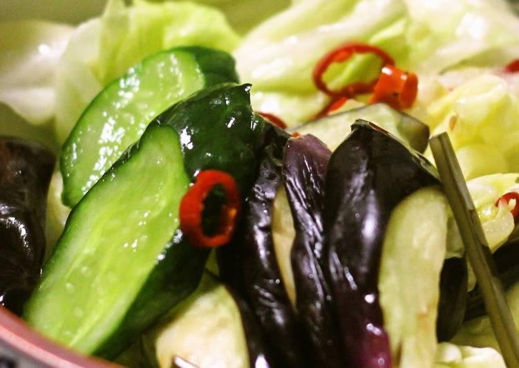 Lightly Pickled Vegetables - Laurie G Edwards