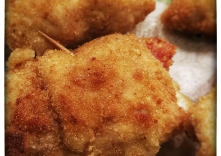 Ricetta Fagotti di pollo, prosciutto cotto e formaggio
