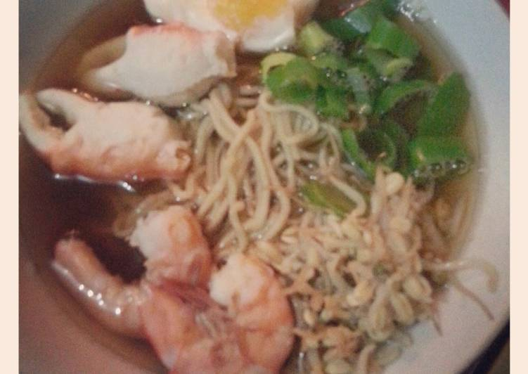 Recipe of Homemade Seafood Ramen