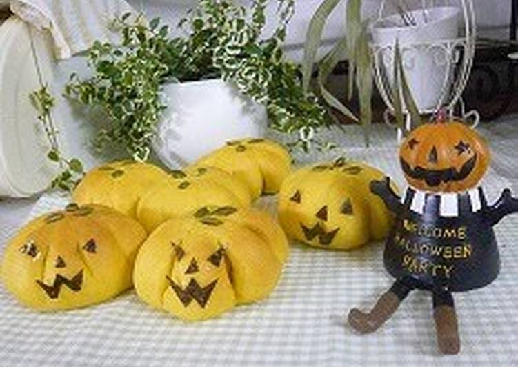 How to Cook Appetizing Kabocha Squash Halloween Bread