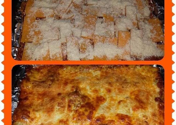Semi-Homemade Lasagna