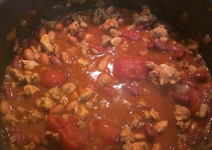 Turkey-Chicken Chili
