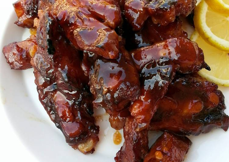 Baked Pork Belly In Chinese BBQ Sauce