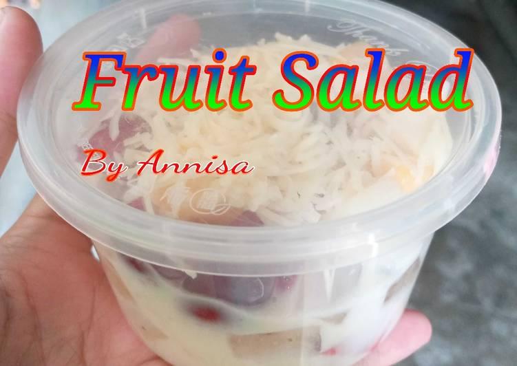 4. Fruit Salad - cookandrecipe.com