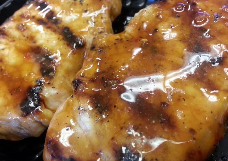 Easiest Way to Cook Tasty Sweet & Spicy Pork Chops
