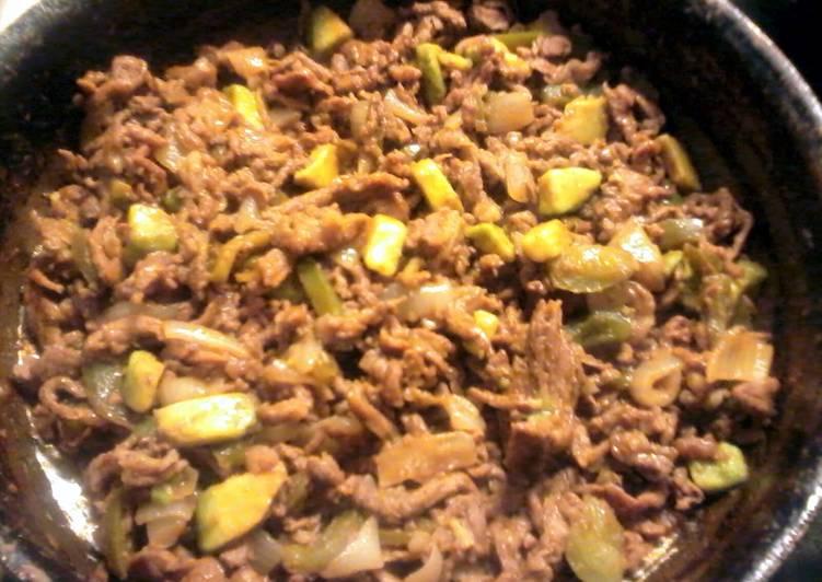 Avocado Fajita dinner