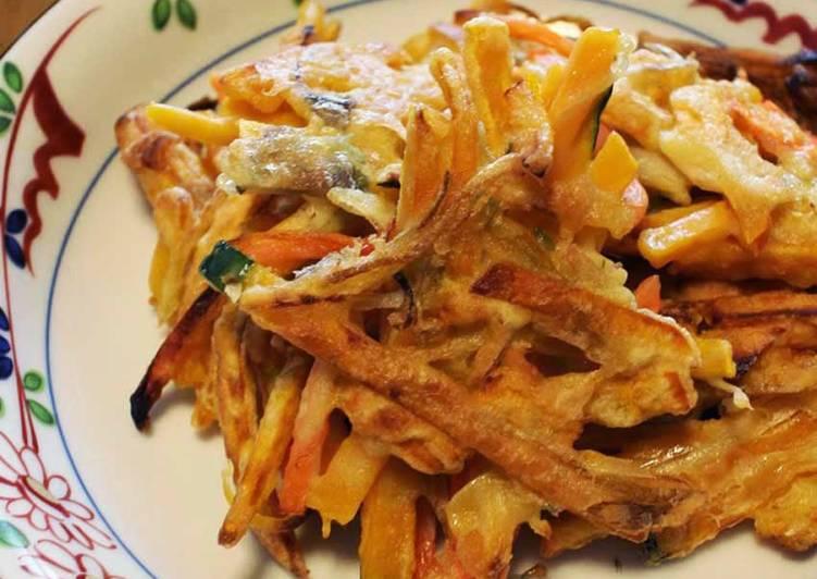 Step-by-Step Guide to Prepare Award-winning Myoga Ginger & Kabocha Fritters