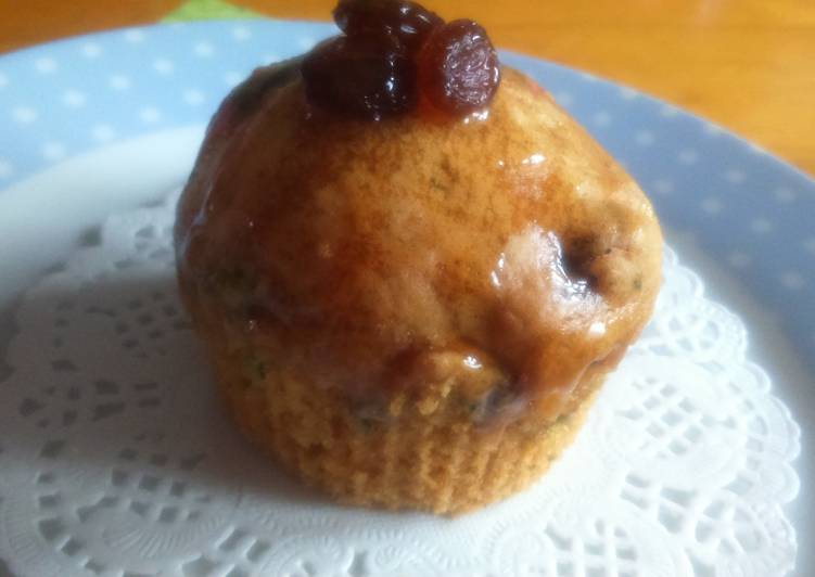 Courgette and Honey Muffins