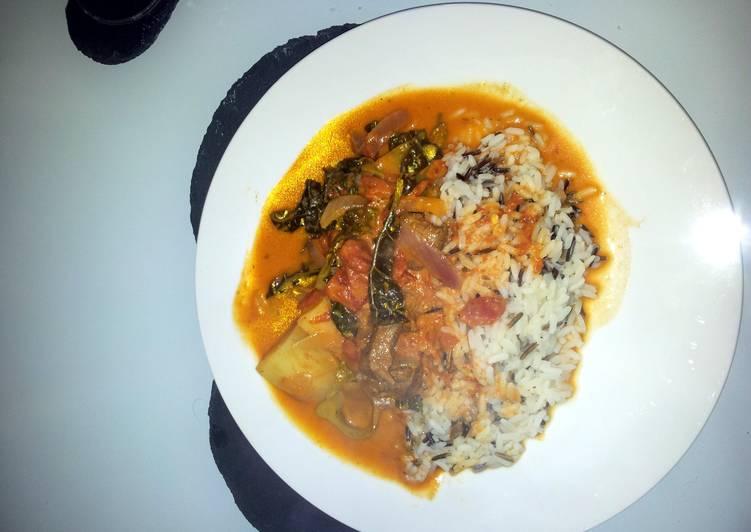 Recipe of Super Quick Homemade spicy tomato creamy lamb curry