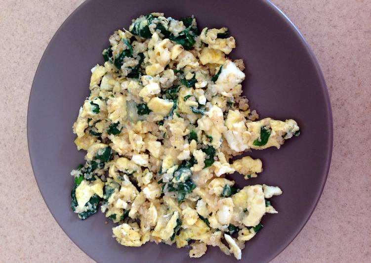 Hearty Vegetarian Scramble