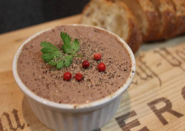 Easy and Scrumptious Liver Pâté in 5 Minutes