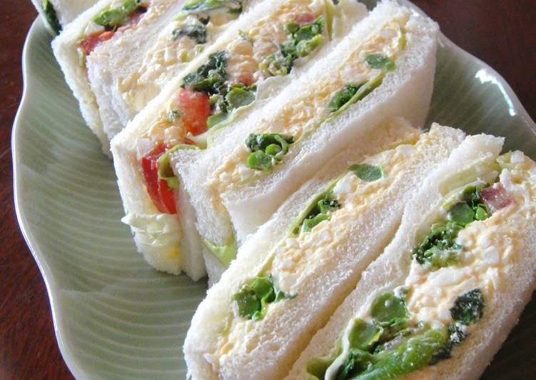 Easiest Way to Prepare Ultimate Egg Salad Sandwiches