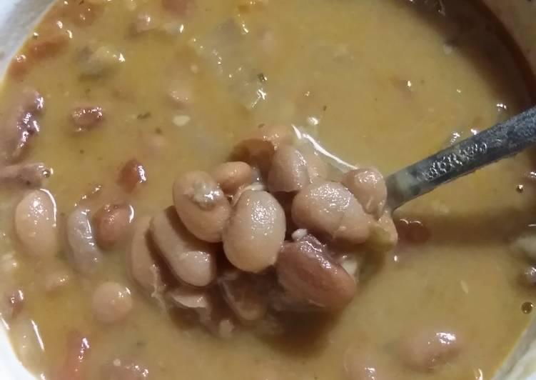 De's Easy Drunken Beans