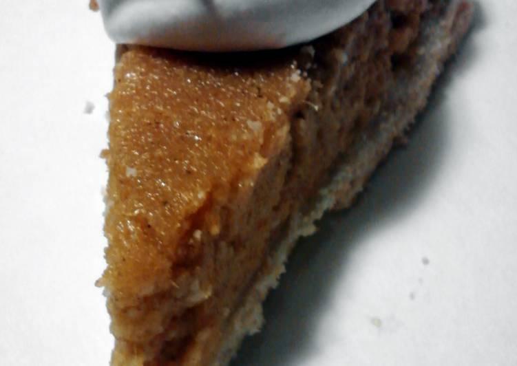 Ms. B's Sweet Potato Pie