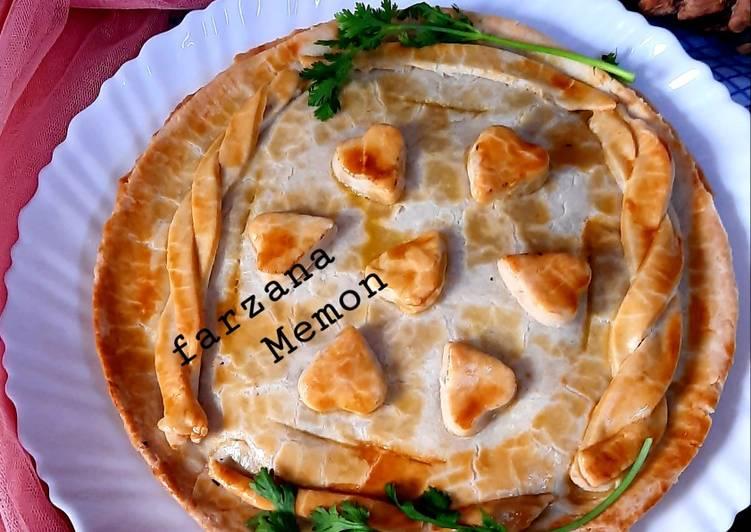 Recipe of Award-winning Chicken pot pie