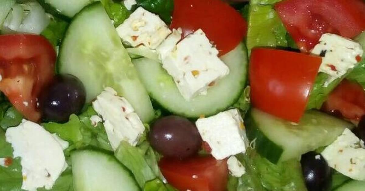 Simple Green Salad Recipe By Tokelo Mokoatle Cookpad