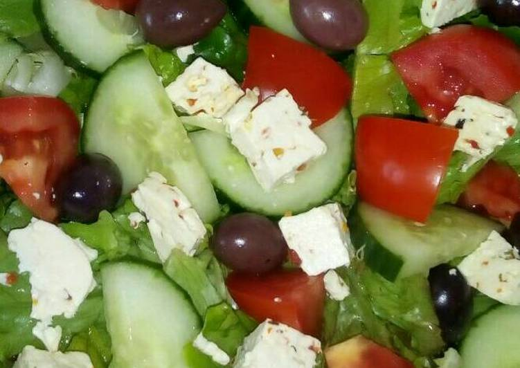 Recipe of Quick Simple Green Salad