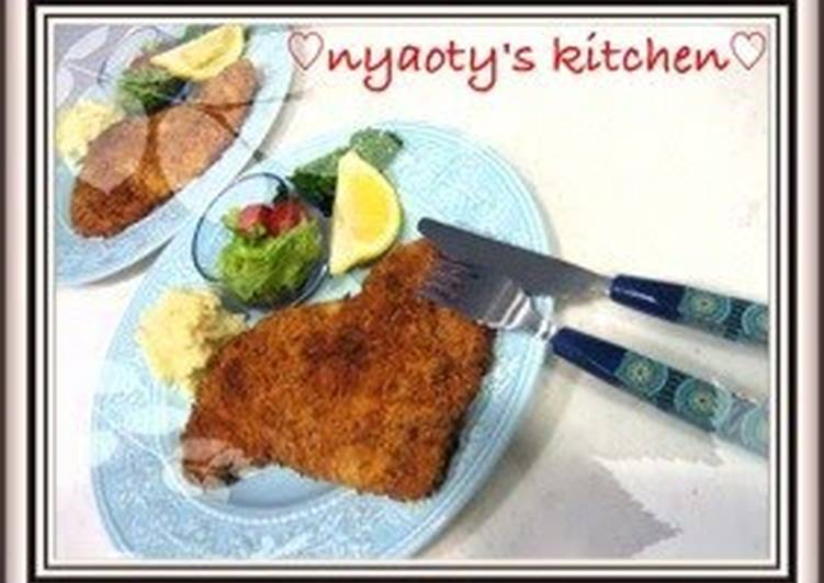 Baked Milanese-Style Crispy Cutlets