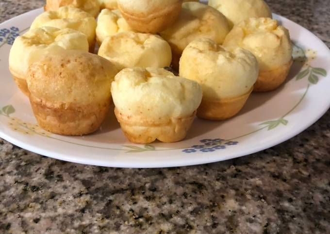 Easiest Way to Make Delicious Easy Brazilian Cheese Bread