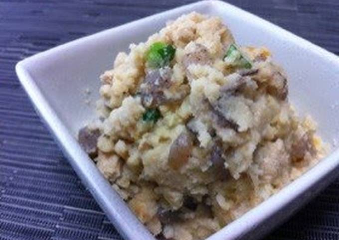 Easy! Nostalgic Flavor! For Bentos or a Side-Dish! Soybean Pulp