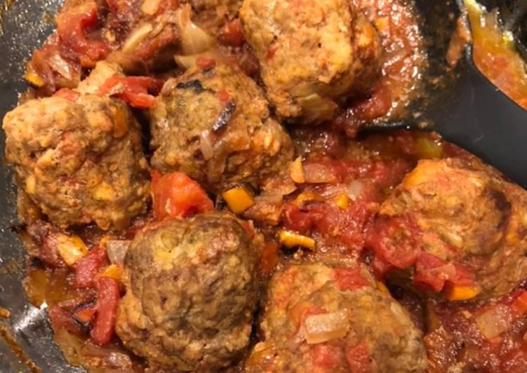 Easiest Way to Make Award-winning Oven Baked Meatballs