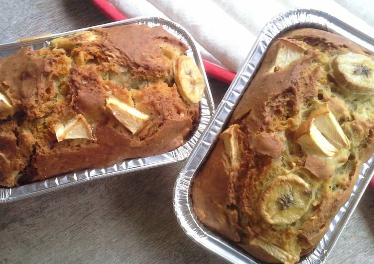 Easiest Way to Make Yummy Egg-free, Dairy-free Banana Bread