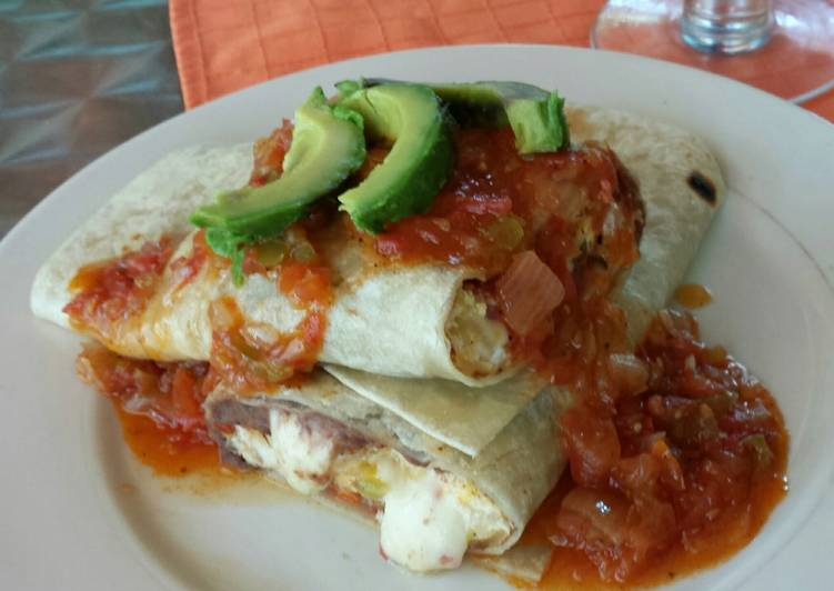 Recipe: Delicious Breakfast burrito