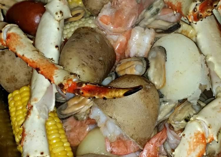 King crab low down