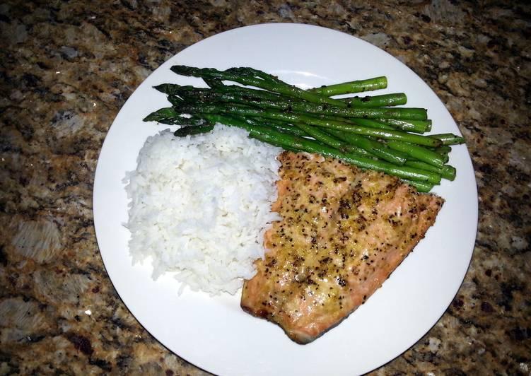 Allen's cedar plank salmon