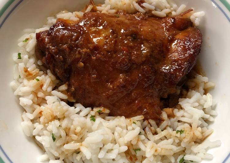 Crock Pot Spicy Honey Chicken