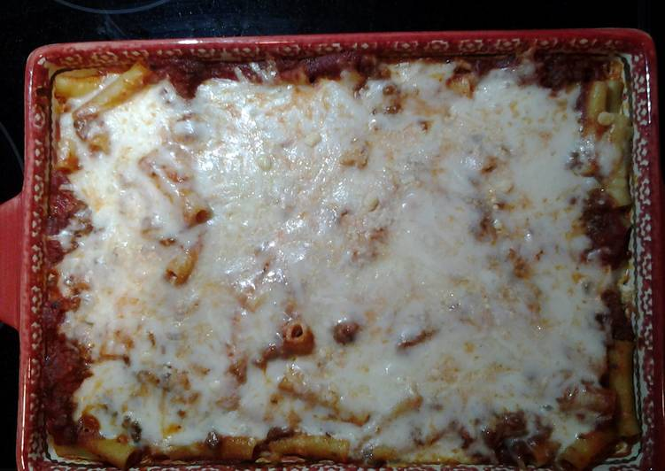 How to Make Recipe of Baked Ziti