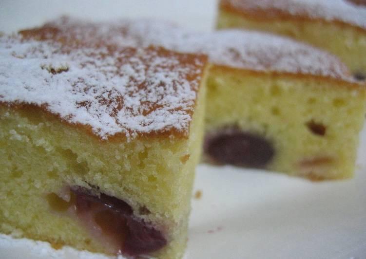 Limited-Season Sweet Cherry Cake