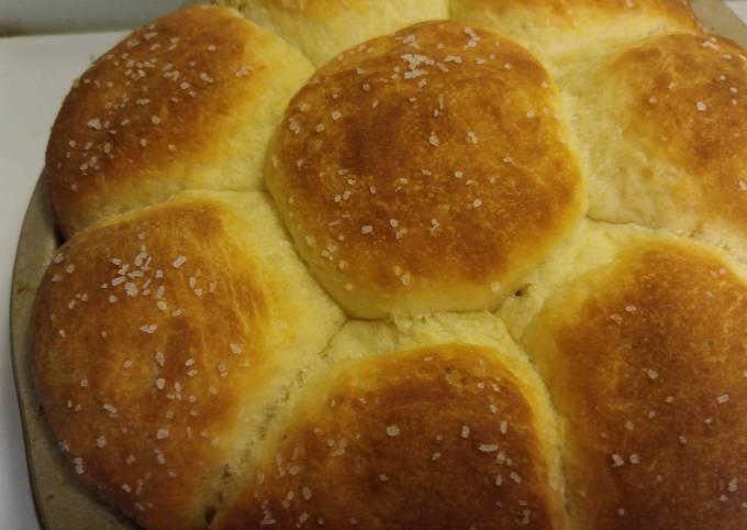 Easiest Way to Make Homemade Simple dinner rolls