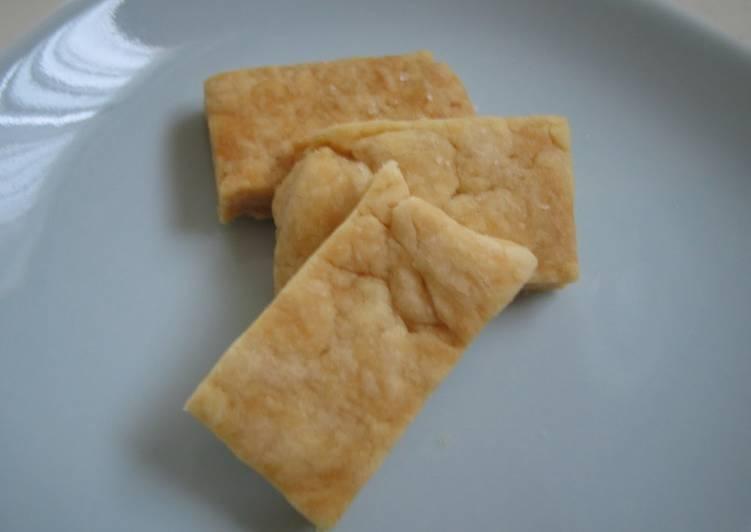 Salt Cookies Sugar-Free Version