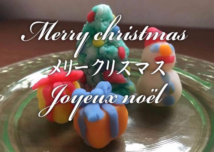 Recipe: Perfect Nerikiri Wagashi for Christmas