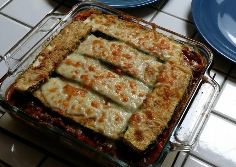Zucchini Lasagna (no noodles)