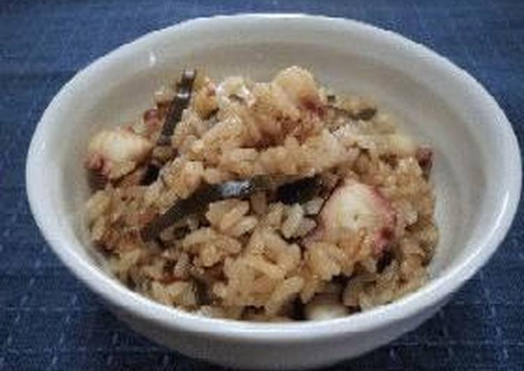 Our Family Recipe for Octopus Rice