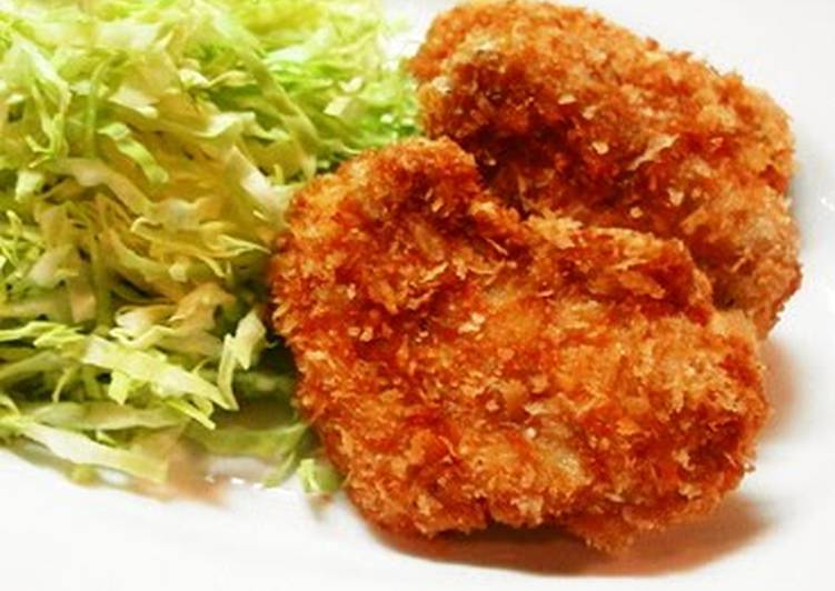 Delicious Crispy Deep-Fried Pork Filet Cutlets