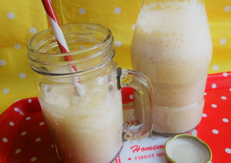 Step-by-Step Guide to Make Speedy Malted Banana Smoothie