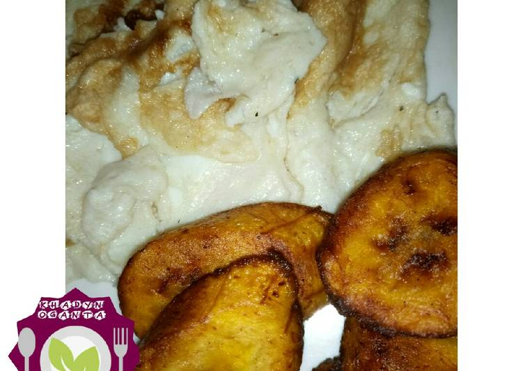 Egg and plantain