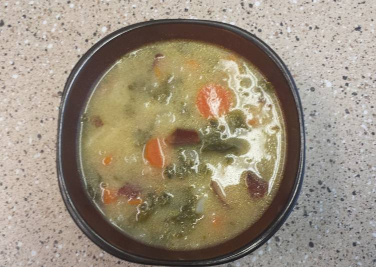 Homemade toscana soup