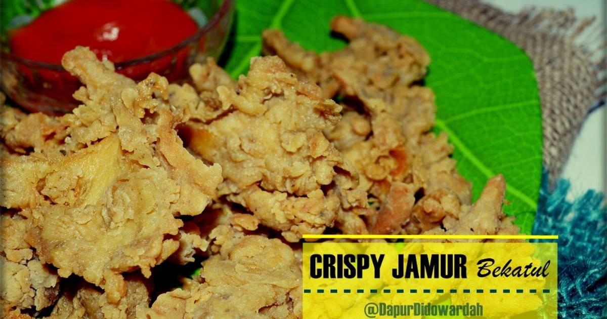 Resep Crispy Jamur Tepung Bekatul Oleh Wardat El Ouyun Cookpad