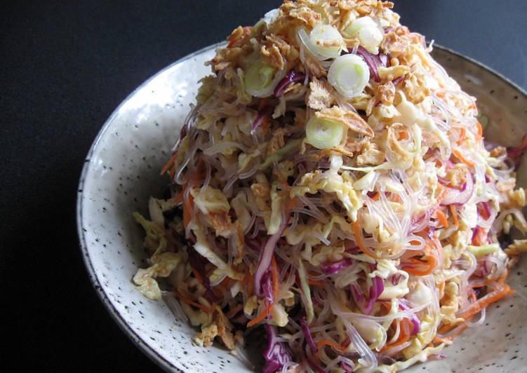 Cabbage & Harusame Salad