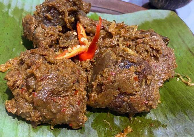 Rendang Daging Sapi Padang