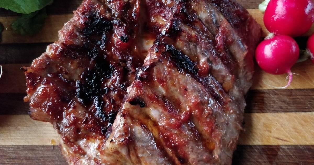 толстая упаковочная, свиные ребра в казане рецепты с фото бодрый курс скармливание