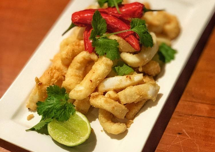 Salt Chilli Squid