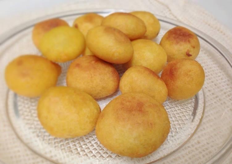 Taiwanese Sweet Potato Fried Mochi