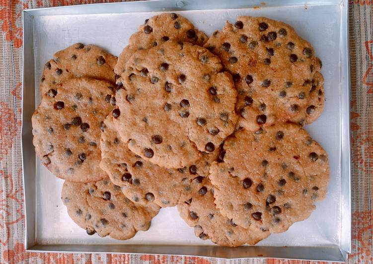 Chocochip Cookies with Nutella