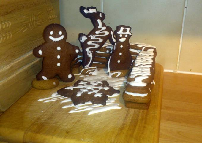 How to Cook Yummy gingerbread cookies
